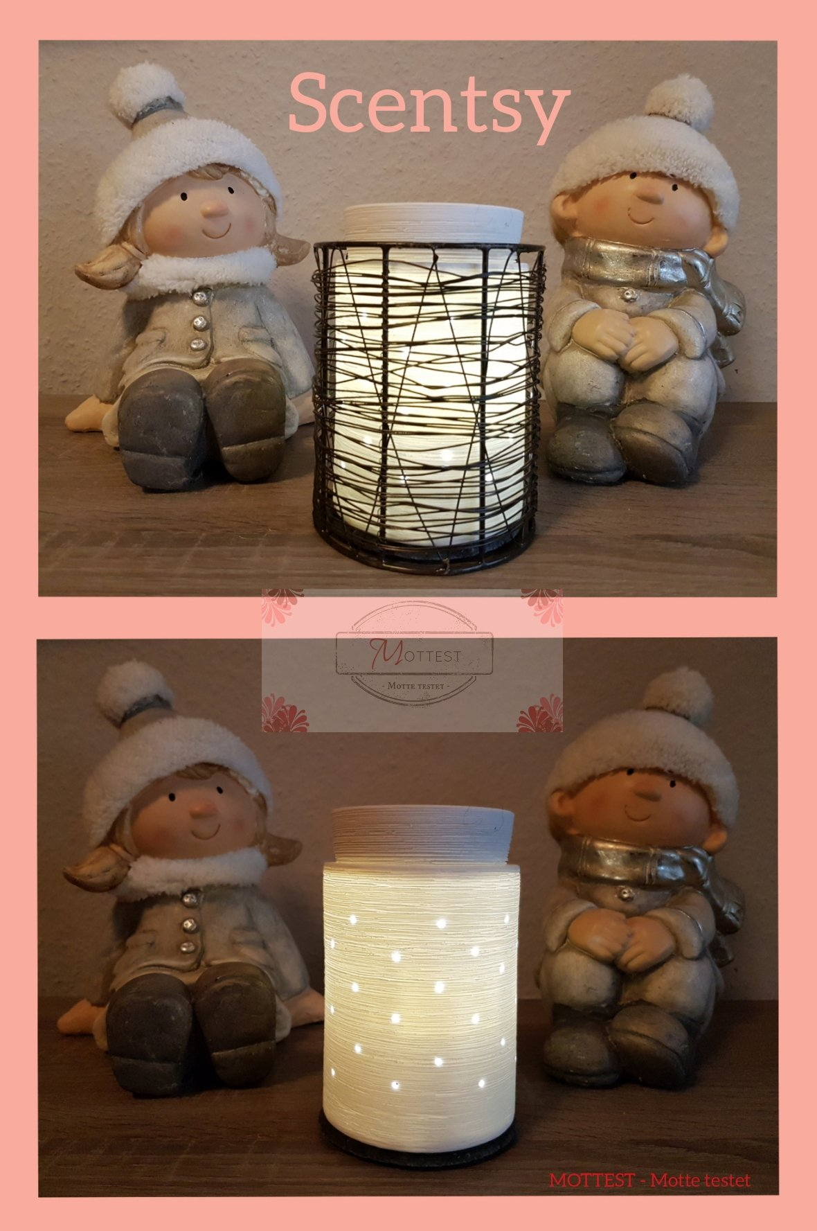"""Scentsy – Elektrische Duftlampe """"Etched Core"""" mit Scentsy Bars ..."""