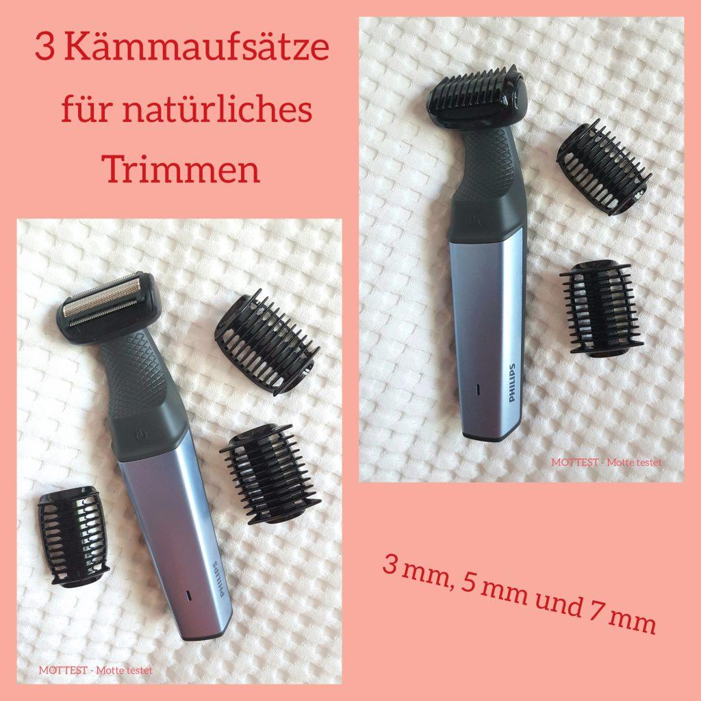 Philips – Wasserfester Bodygroom series 3000 (BG301515) für